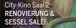 City-Kino Saal 2 Sessel Sale