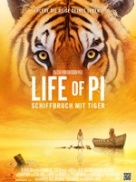 Life of Pi: Schiffbruch mit Tiger - 3D